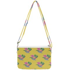 Floral Double Gusset Crossbody Bag by Sparkle