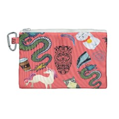 Puzzle Canvas Cosmetic Bag (large)