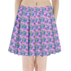 Floral Pattern Pleated Mini Skirt by Sparkle