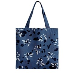 Abstract Fashion Style  Zipper Grocery Tote Bag by Sobalvarro