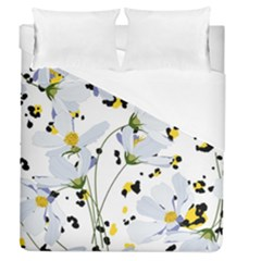 Tree Poppies  Duvet Cover (queen Size) by Sobalvarro