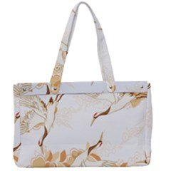 Birds And Flowers  Canvas Work Bag by Sobalvarro