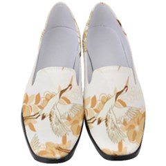 Birds And Flowers  Women s Classic Loafer Heels by Sobalvarro