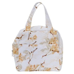 Birds And Flowers  Boxy Hand Bag by Sobalvarro