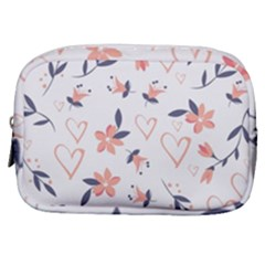 Flowers And Hearts Make Up Pouch (small)