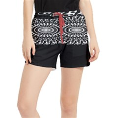 Digital Handdraw Floral Runner Shorts