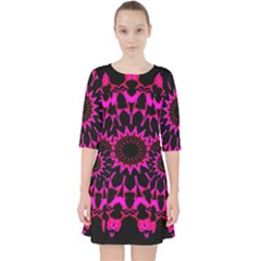 Digital Handdraw Floral Pocket Dress