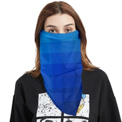 Zappwaits Water Face Covering Bandana (triangle) by zappwaits