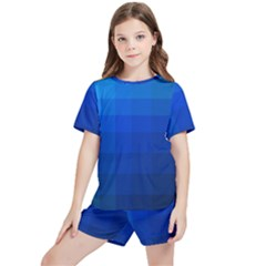 Zappwaits Water Kids  Tee And Sports Shorts Set by zappwaits