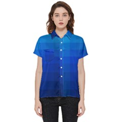 Zappwaits Water Short Sleeve Pocket Shirt by zappwaits