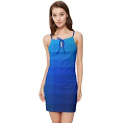 Zappwaits Water Summer Tie Front Dress by zappwaits