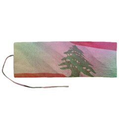 Lebanon Roll Up Canvas Pencil Holder (m) by AwesomeFlags