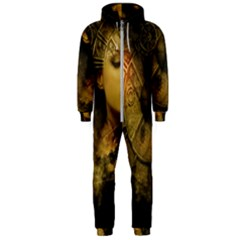 Surreal Steampunk Queen From Fonebook Hooded Jumpsuit (men)  by 2853937
