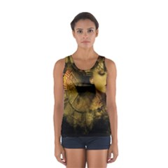 Surreal Steampunk Queen From Fonebook Sport Tank Top  by 2853937