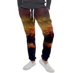 Tiger King In A Fantastic Landscape From Fonebook Men s Jogger Sweatpants by 2853937