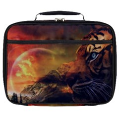 Tiger King In A Fantastic Landscape From Fonebook Full Print Lunch Bag