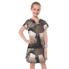 Lord Of The Dragons From Fonebook Kids  Drop Waist Dress by 2853937