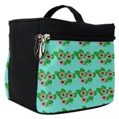 Flowers Pattern Make Up Travel Bag (small) by Sparkle