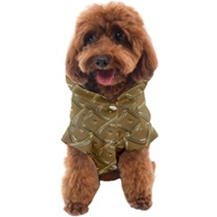 Gold Background Modern Dog Coat