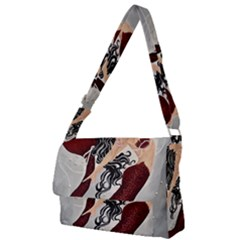 File 000 Full Print Messenger Bag (l)
