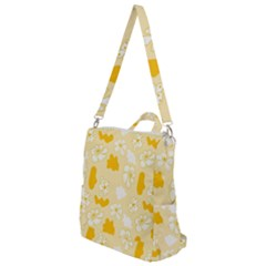 Abstract Daisy Crossbody Backpack by Eskimos