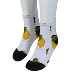 Lemon Fruit Men s Low Cut Socks