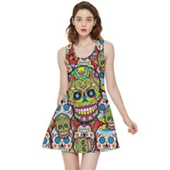 Sugar Skulls Inside Out Reversible Sleeveless Dress
