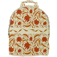 Ornamental Flowers Mini Full Print Backpack by Eskimos
