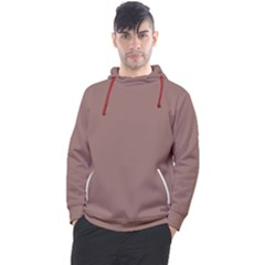 Burnished Brown Men s Pullover Hoodie