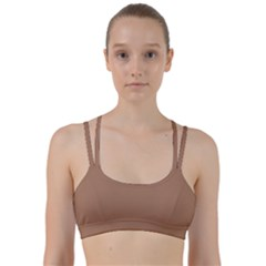 Cafe Au Lait Line Them Up Sports Bra