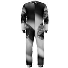 Black And White Snake Onepiece Jumpsuit (men)