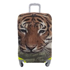 Swimming Tiger Luggage Cover (small)