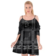 All Winged Cutout Spaghetti Strap Chiffon Dress by Lotus