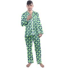 Dialine Men s Long Sleeve Satin Pajamas Set by Lotus