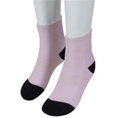 Color Misty Rose Men s Low Cut Socks
