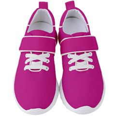Color Medium Violet Red Women s Velcro Strap Shoes