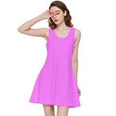 Color Ultra Pink Inside Out Racerback Dress