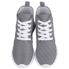 White Dots On Black Women s Lightweight High Top Sneakers by JustToWear