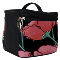 Poppy Flowers Make Up Travel Bag (small) by goljakoff