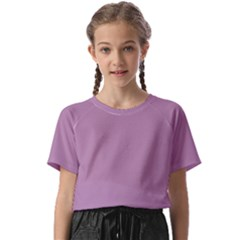 Color Mauve Kids  Basic Tee