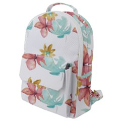 Floral Nature Flap Pocket Backpack (small) by Sparkle