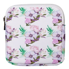 Floral Art Mini Square Pouch by Sparkle