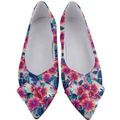 Tropical Flowers Turtles Cbdoilprincess 9a8efa63-1b6b-4226-a85c-858859e581d8 Women s Bow Heels