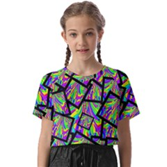 Vibrant Colors Cbdoilprincess 47064993-d0bc-4cda-b403-dc84c3d564a3 Kids  Basic Tee