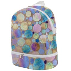 Tiles Cbdoilprincess Eb49aa06-f1b9-412e-836d-30c28dd8f7d9 Zip Bottom Backpack