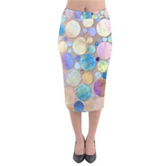 Tiles Cbdoilprincess Eb49aa06-f1b9-412e-836d-30c28dd8f7d9 Velvet Midi Pencil Skirt