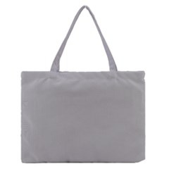 Chalice Silver Grey Zipper Medium Tote Bag