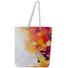 Autumn Paint Full Print Rope Handle Tote (large) by goljakoff