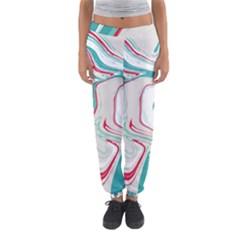 Vector Vivid Marble Pattern 4 Women s Jogger Sweatpants