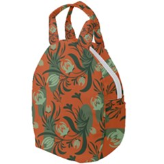 Folk Floral Pattern  Abstract Flowers Surface Design  Seamless Pattern Travel Backpacks by Eskimos